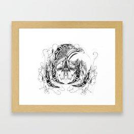 sulfre Framed Art Print