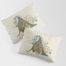 Celtic Initial A Pillow Sham