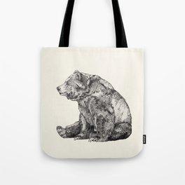 Bear // Graphite Tote Bag