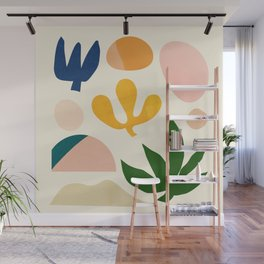 Abstraction_Floral_001 Wall Mural