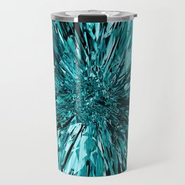 broken glass sea Travel Mug