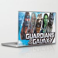 guardians of the galaxy Laptop & iPad Skins featuring guardians of the galaxy by store2u