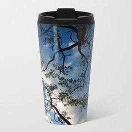 Fractured sky Metal Travel Mug