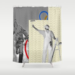 The Cover Up Shower Curtain