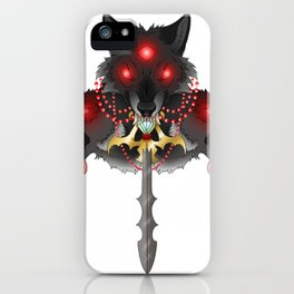 The Three Swordsman iPhone Case