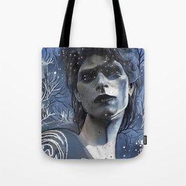 Wintry David Tote Bag