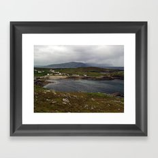 Na Dunaibh and Horn Head Framed Art Print