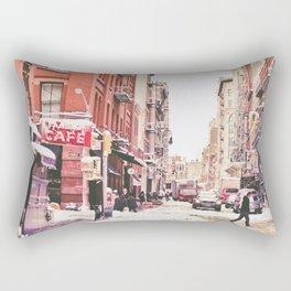 New York City Snow Soho Rectangular Pillow