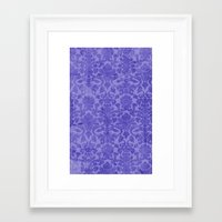 decorative Framed Art Prints featuring Decorative by stormmajki