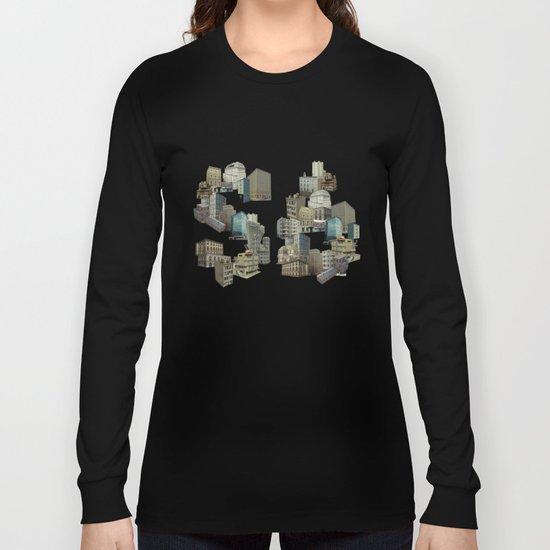 Artitecture colour Long Sleeve T-shirt