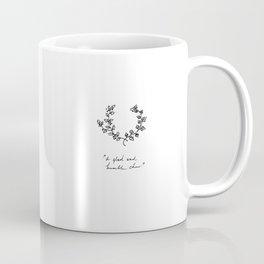 A Glad And Humble Cheer Coffee Mug