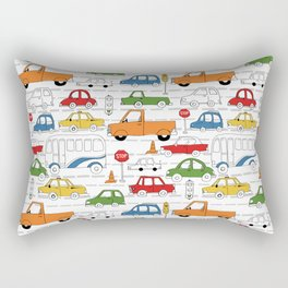 Busy Traffic Pattern Rectangular Pillow