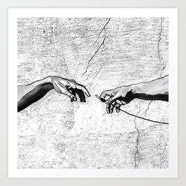 Creation of AUX Art Print