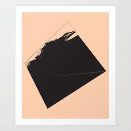 Non Cooperative Discourse Art Print