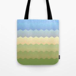 Waves 3 Tote Bag