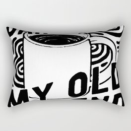 HELLO DARKNESS MY OLD FRIEND COFFEE T-SHIRT Rectangular Pillow