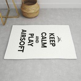 Keep Calm welts Airsoft Airsoft BBs Gift Rug