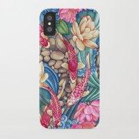 koi iPhone & iPod Cases featuring Koi Pond by Vikki Salmela