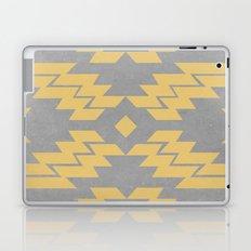Concrete & Aztec Laptop & iPad Skin