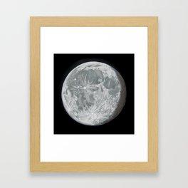 Moon Portrait 2 Framed Art Print