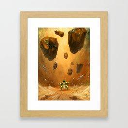 Earthbender Framed Art Print