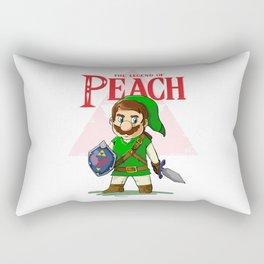 the legend of Peach Rectangular Pillow