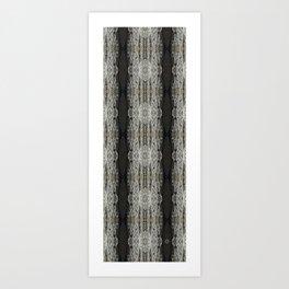 Oak Bark Pattern Art Print