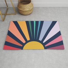 Rainbow Sunshine Rug