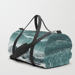 Electric blues Duffle Bag