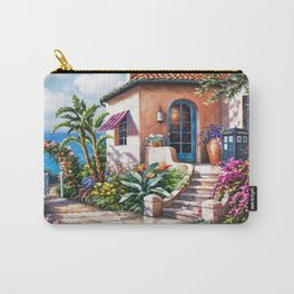 Tardis Art At The Beach House Carry-All Pouch