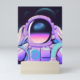 Space Travel 20XX Mini Art Print
