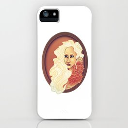Fiona the White iPhone Case