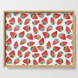 Strawberry Love Serving Tray