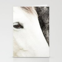 horses Stationery Cards featuring Horses by MarianaLage