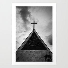 Geometric // Worship Art Print