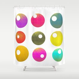 Look around Shower Curtain