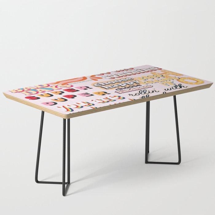 Orange Mood Coffee Table
