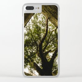 Under the Yew Clear iPhone Case