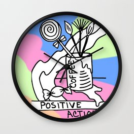 Positive Actions Wall Clock