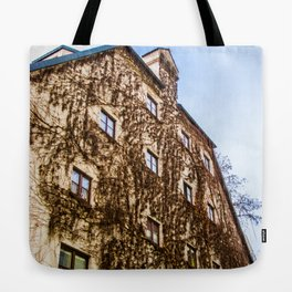 Climbing Vines Tote Bag