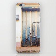 Bird and Bicycle. iPhone & iPod Skin