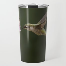 Hummingbird and flower II Travel Mug