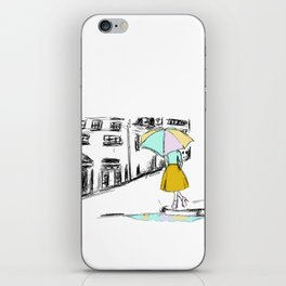 Spring Showers iPhone Skin