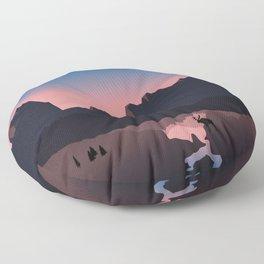Rocky Mountain Marvelous Floor Pillow