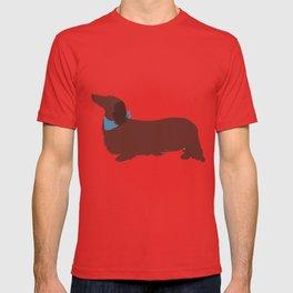 Long haired Dachshund T-shirt
