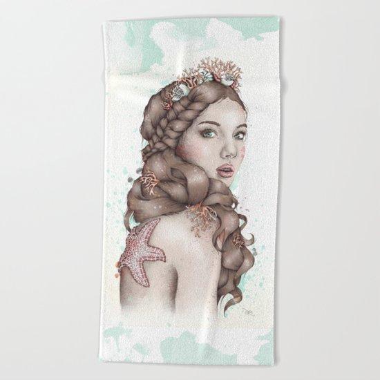 Forgotten Mermaid Beach Towel