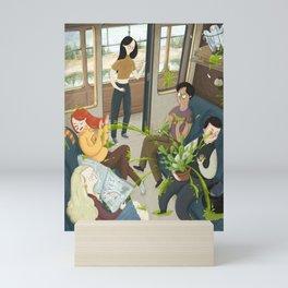 Train Ride Mini Art Print