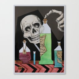 Potions and Poisons Canvas Print