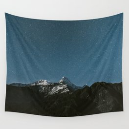 Annapurna Himalayas Wall Tapestry