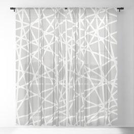 Lazer Dance Sheer Curtain